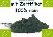 500 g BIO CHLORELLA poudre, 100% pure, la meilleure qualité