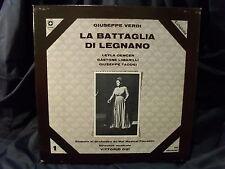 G. Verdi - La Battaglia Di Legnano / Gui     2 LP-Box