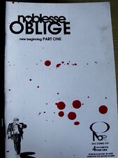 Noblesse Oblige n°4 1996 New Beginning Part One ed. RAE Comic  [G.190]
