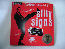 New Mr Beans Bathroom Book of silly Signs Waterproof Cover Gal 5806