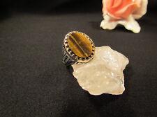Silberring Männerring Siegelring Ring Sterlingsilber 925 Handarbeit Tigerauge