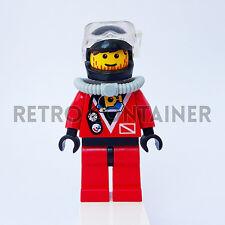 LEGO Minifigures - 1x div014 div016 - Diver - Divers Omino Minifig 6557 6560