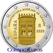 2 Euros Conmemorativos ESPAÑA 2020 *Arquitectura Mudéjar Aragón* Sin Circular