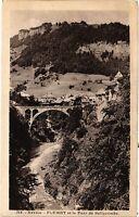 CPA   Savoie - Flumet et le Pont de Bellecombe  (351870)