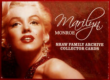 MARILYN MONROE - Shaw Family Archive - Breygent 2007 - Individual Card #01