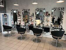 Arredamento Parrucchiere Completo Salon Ambience Specchi Poltrone Cassa Lavaggio