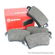 VW Golf Plus 2.0 TDI Without Wear Sensor Genuine Brembo Front Brake Pads Set