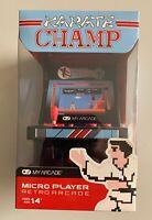 My Arcade Karate Champ Micro Player Retro Arcade Game New Free s/h