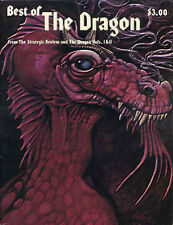 BEST OF THE DRAGON MAGAZINE VOLS. I & II EXC+! D&D Dungeons Dragons Issue Module