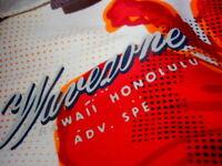 Wavezone HAWAII HONOLULU Boardshorts Size 38 LRG BEACH SKATE SURF BOARD SHORTS