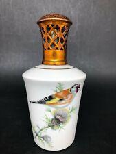 LAMPE BERGER PORCELAINE LIMOGES GB OISEAUX diffuseur parfum