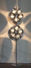 lampadaire floor lamp 1970 lampe luminaire light attribué  reggiani