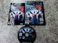 WWE SmackDown vs. Raw 2011 (Sony PlayStation 2, 2010) ps2 complete