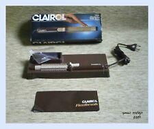 """CLAIROL """" Flexibrush With Steam """" NIB Unique VTG 1982 Retro New in the box"""