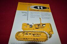 Allis Chalmers HD-11B Crawler Tractor Dealers Brochure YABE11 VER92