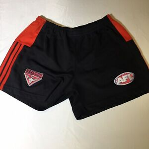 AFL A.E. Brand Essendon Bombers Footy Shorts Medium (without Drawstring)