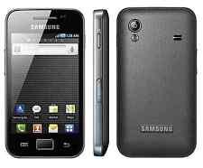 SAMSUNG Galaxy Ace GT-S5830 SIM GRATIS (Sbloccato) Smartphone Android Nero solo Regno Unito