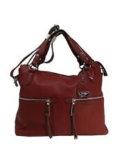New Jessica Simpson Shoulder Bag Wine W/Soft Silver Hardware