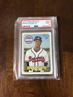 2018 Topps Heritage Ronald Acuna Jr. Rookie RC #580 PSA 9 MINT Braves 🔥🔥