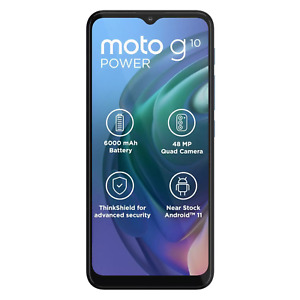 "Motorola Moto G10 Power 64GB/4GB RAM XT2127- 4 Factory Unlocked 6.5"" 6000mAh"