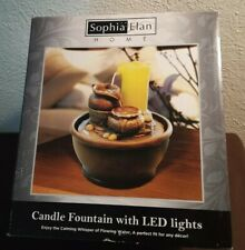 Sophia Elan Home Candle Fountain LED Lights