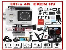 """H9 Eken Ultra HD 1080p 4K Sport 170 ° de ancho WiFi Acción Cámara DV 2"""" + Free Gift Set"""