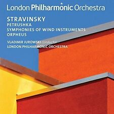 STRAVINSKY: PETRUSHKA; SYMPHONIES OF WIND INSTRUMENTS; ORPHEUS NEW CD