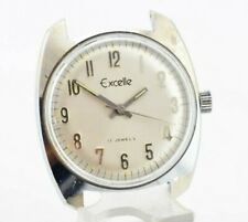 K733 Vintage Excelle Hand-Winding Mechanical Watch Original 38.1