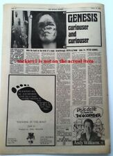 GENESIS 'Curiouser and Curiouser'1972 UK ARTICLE / clipping