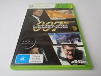 Mint Disc Xbox 360 007 Legends  Free Postage