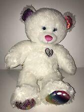 "Build-A-Bear Twinkle Toes Plush 16"" Peace Heart *no light* Stuffed Animal"