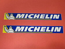Two Michelin Tire Racing Decals Stickers Moto GP Superbike Motocross MX SX ATV
