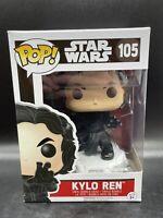 Funko Pop! Star Wars The Force Awakens Kylo Ren #105 Force Grab MINT W/ Case