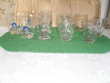 4 sof 3 whisky or mixer glasses g/c