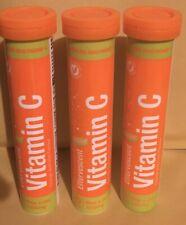 Effervescent Vitamin C 1000mg 3 x 20 Tablet Tubes