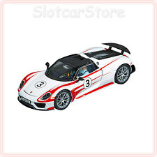 "Carrera Evolution 27477 Porsche 918 Spyder ""No.03"" 1:32 Slotcar Auto"