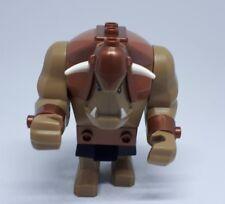 Genuine LEGO Fantasy Era gigante Troll/ORC ORCO minifigures. Castello 7097 marrone.