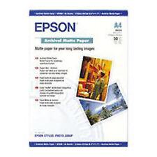Epson Archival Matte Paper DIN A4 192g/m² 50 Sheets C13S041342