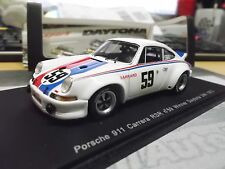PORSCHE 911 Carrera RSR Winner Daytona 1973 #59 Brumos Gregg Haywood Spark 1:43