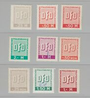 Germany revenue stamp 5-20-20   DDR Fiscal or BOB - scarce