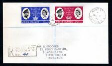 Virgin Islands - 1966 Royal Visit Registered Cover