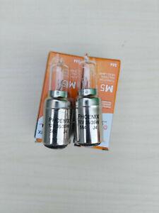 2 x VESPA Lambretta 12 Volt 35/35 W  BA20D Headlight Halogen Bulb  Top Quality