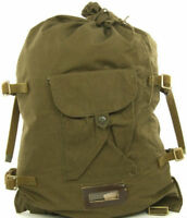 Genuine Soviet Russian Army Military Canvas Bag Backpack Veshmeshok USSR, СССР!