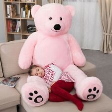 WOWMAX® 6 Foot Giant Teddy Bear Stuffed Animals Pink