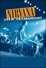 NIRVANA - LIVE AT THE PARAMOUNT All Region DVD ~ DAVE GROHL~KURT COBAIN *NEW*