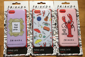 Friends Phone Case iPhone 6/7/8  Lobster Icons Frame New