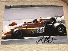 Hans Joachim Stuck F1 Autogramm Autograph Signed Signiert FOTO 20x30 **TOP**