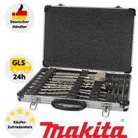 Makita D-42444 Bohrer-Meißelset SDS+ 17-teilig, Meißel- & Bohrer-Satz