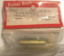 Dumas Boats Brass Strut 3307 S-6/0 for SK-60- Oilite Bearings-Vintage RC Boat