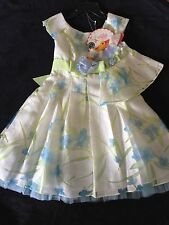 NWT Dollie and Me Little Girls Blue Dress + Dress for a Doll, 5T